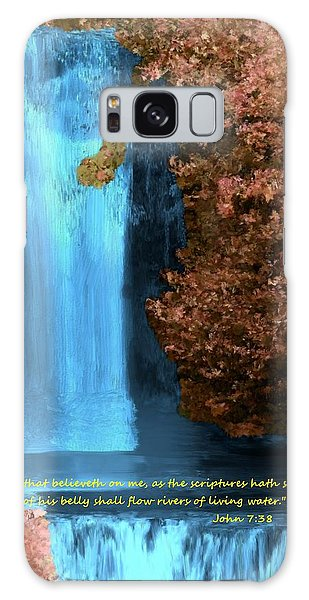 Rivers Of Living Water Galaxy Case