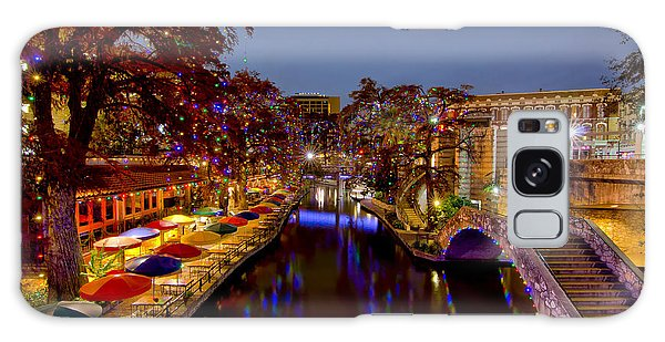 Riverwalk Christmas Galaxy Case