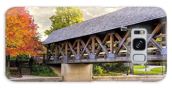 Riverwalk Footbridge Galaxy Case