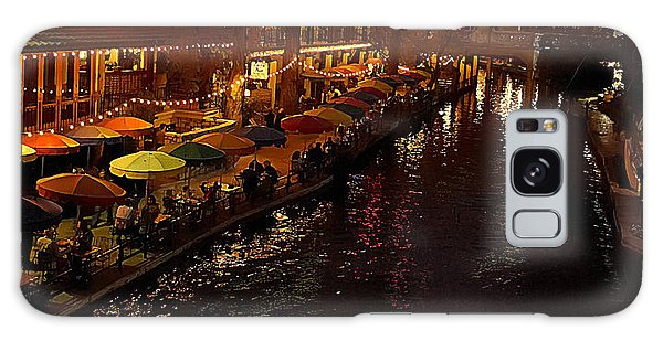 Riverwalk Night Galaxy Case