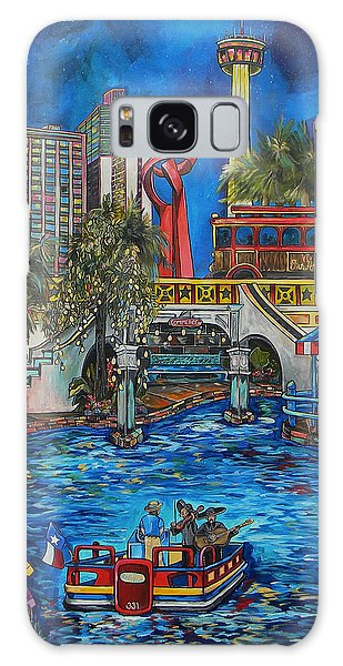 Riverwalk View Galaxy Case