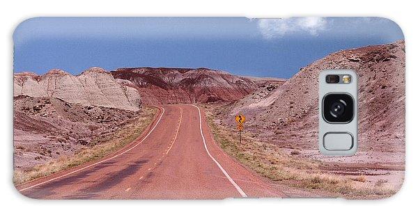 Road Curves Galaxy Case