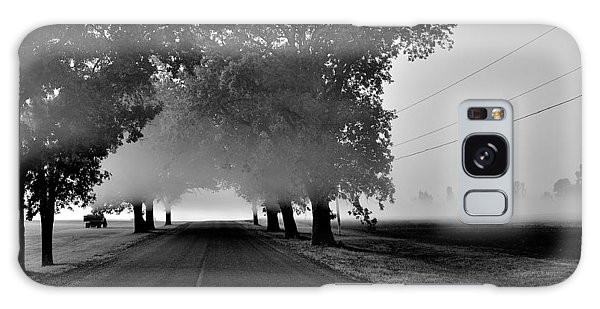 Road Into Morning Mist - Canada Galaxy Case