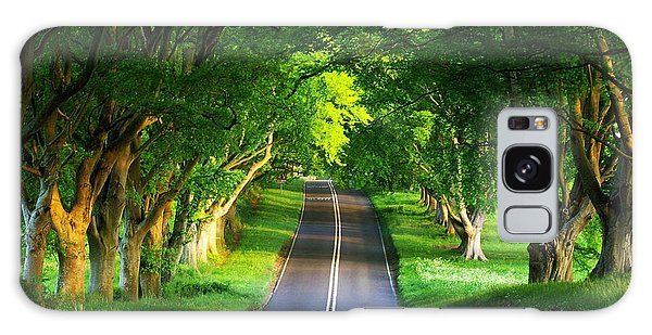 Road Pictures Galaxy Case by Marvin Blaine