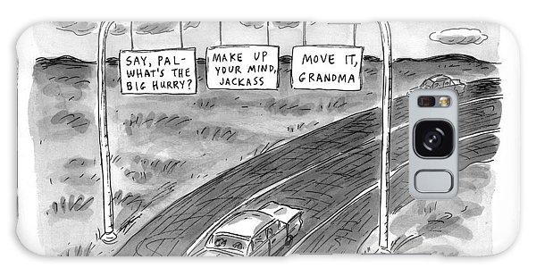 'road Rage Highway' Galaxy Case