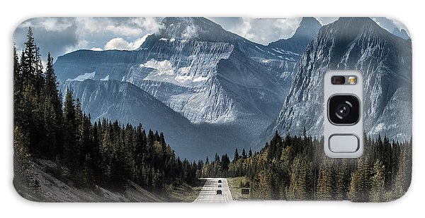 Travel Destinations Galaxy Case - Road To The Great Mountain by Yanliang Tao