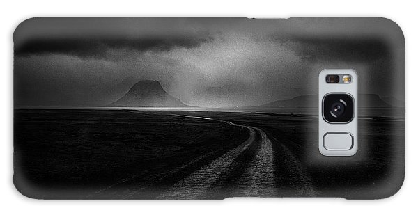 Iceland Galaxy S8 Case - Road To The Stormy Land by Peter Svoboda, Mqep