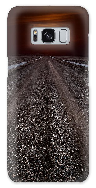 Road To The Sun Galaxy Case by Aaron J Groen