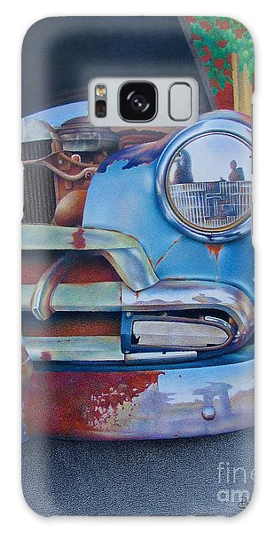 Road Warrior Galaxy Case by Pamela Clements