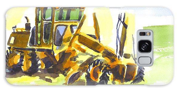 Roadmaster Tractor In Watercolor Galaxy Case