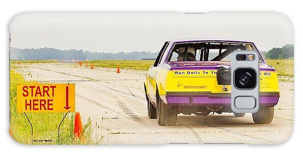 Roadrunner In The Start. Galaxy Case