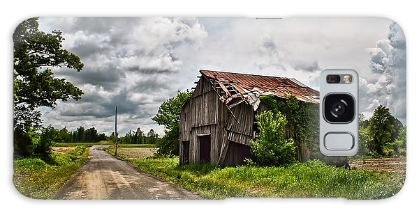 Roadside Barn Galaxy Case by Greg Jackson