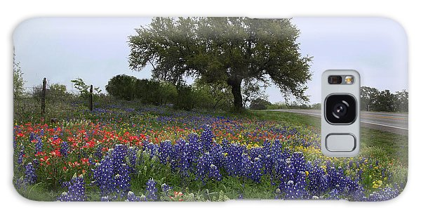 Roadside Splendor Galaxy Case by Susan Rovira
