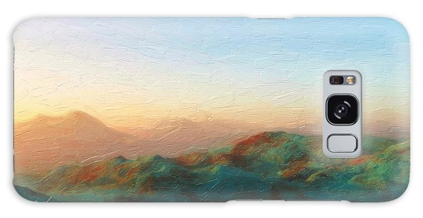 Roaming Hills And Valleys 2 Galaxy Case by The Art of Marsha Charlebois
