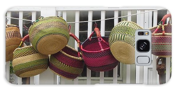 Roanoke Baskets Galaxy Case by Cathy Lindsey