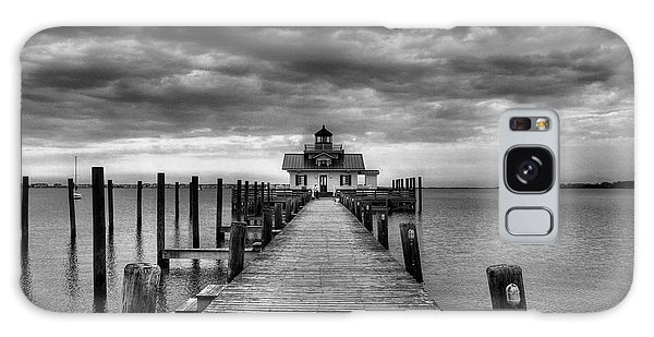 Roanoke Marshes Light 2 Bw Galaxy Case