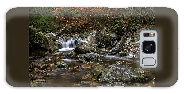 Roaring Brook - Sunderland Vermont Autumn Scene  Galaxy Case