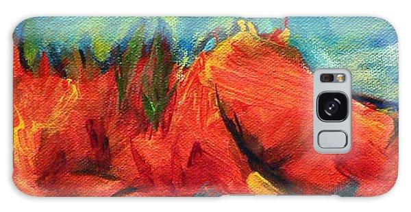 Roasted Rock Coast Galaxy Case by Elizabeth Fontaine-Barr