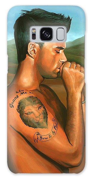 Robbie Williams 2 Galaxy Case by Paul Meijering