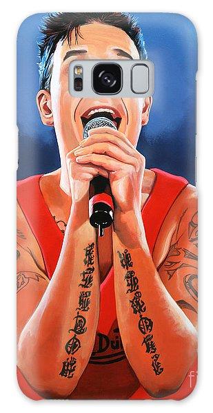 Cd Galaxy Case - Robbie Williams Painting by Paul Meijering