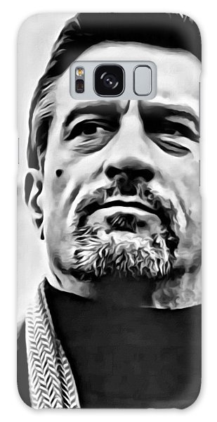 Robert De Niro Portrait Galaxy Case
