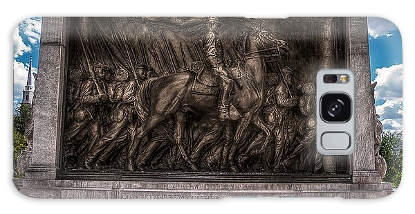 Robert Gould Shaw Memorial On Boston Common Galaxy Case by Tom Gort