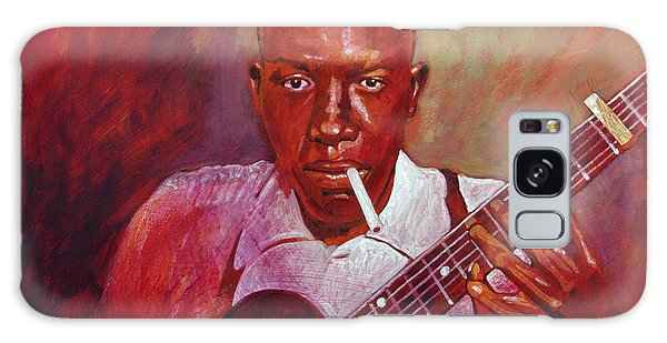 Robert Johnson Photo Booth Portrait Galaxy Case