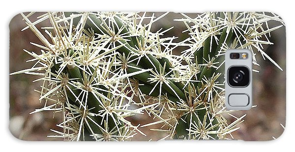 Robert Melvin - Fine Art Photography - A Prickly Situation Galaxy Case