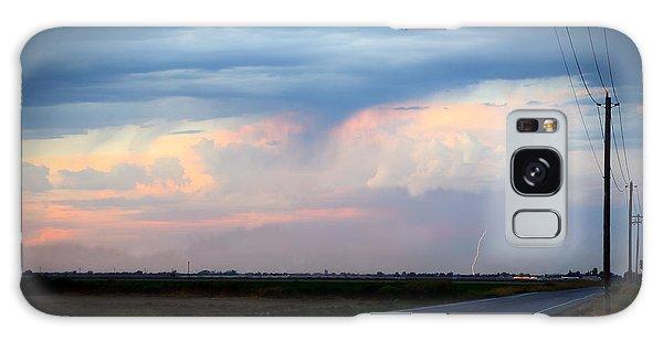 Robert Melvin - Fine Art Photography - County Road 98 Galaxy Case