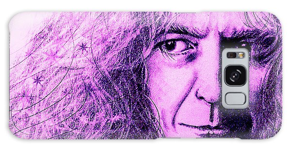 Robert Plant Purple Galaxy Case by Patrice Torrillo