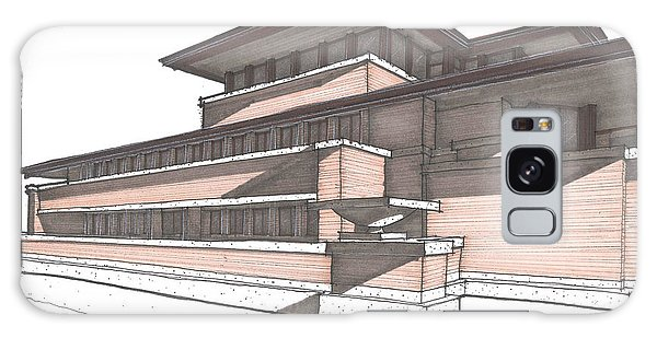 Robie House Galaxy Case by Calvin Durham