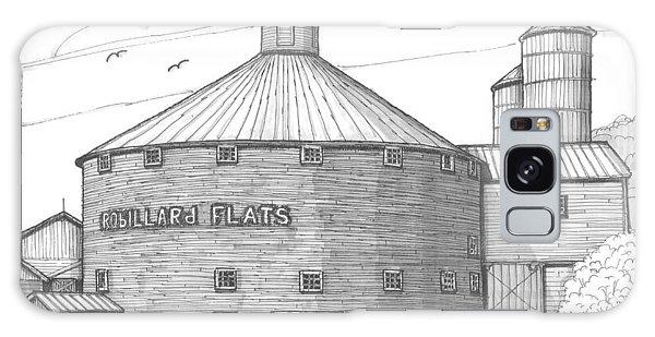 Robillard Flats Round Barn Galaxy Case