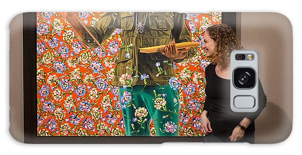 Robin And Anthony Of Padua By Kehinde Wiley  Galaxy Case