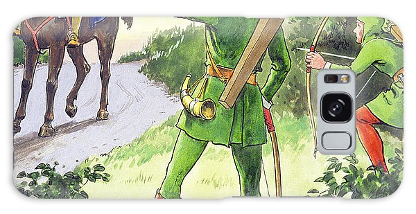 Folklore Galaxy Case - Robin Hood, From Peeps Into The Past by Trelleek