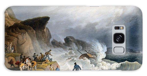 Bay Galaxy Case - Robin Hoods Bay, Yorkshire, 1825 by Francis Nicholson