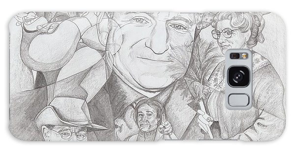Robin Williams A Lifetime Of Laughter Galaxy Case