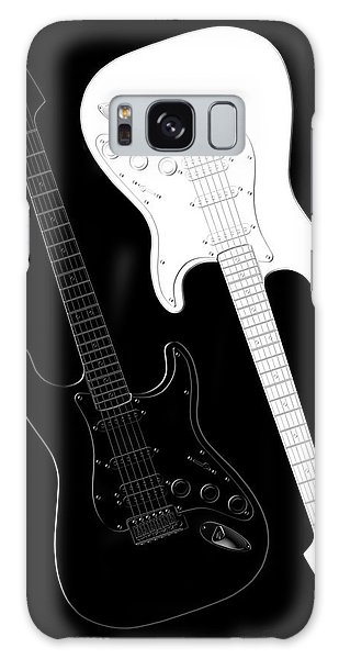 Music Galaxy S8 Case - Rock And Roll Yin Yang by Mike McGlothlen