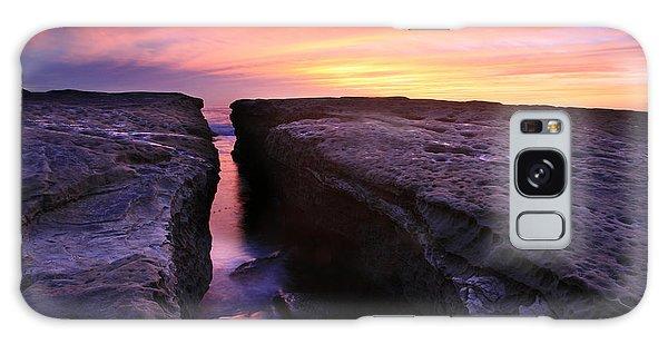 Rock Channel Sunset Galaxy Case