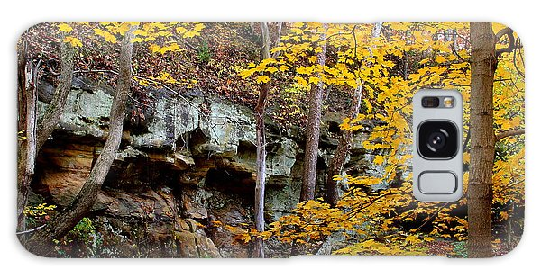 Rock Fall Gorge Galaxy Case
