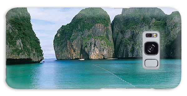 Phi Phi Island Galaxy Case - Rock Formations In The Ocean, Mahya by Panoramic Images