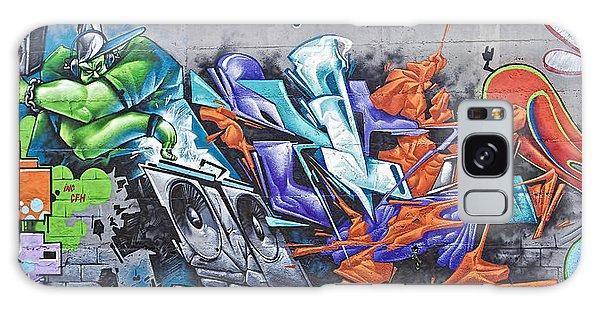 Rock Graffito Galaxy Case