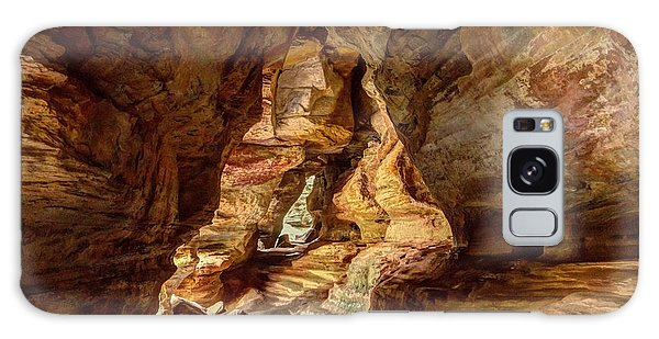 Rock House At Hocking Hills Oh Galaxy Case