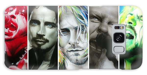 Pearl Jam Galaxy Case - Rock Montage I by Christian Chapman Art