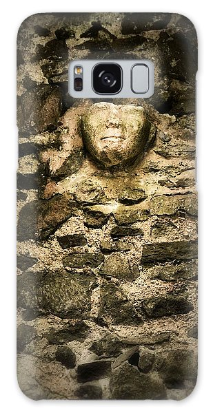The Face In The Wall - Rock Of Cashel Galaxy Case