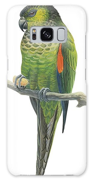 Parakeet Galaxy Case - Rock Parakeet by Anonymous