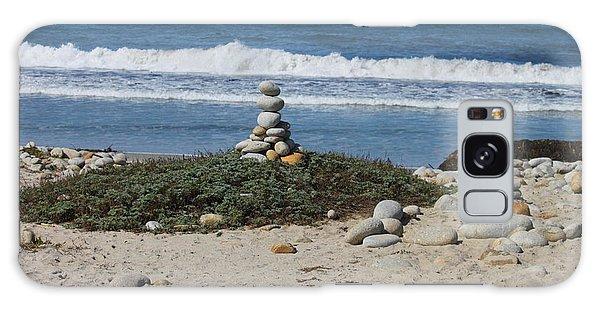 Rock Sculpture 2 Galaxy Case