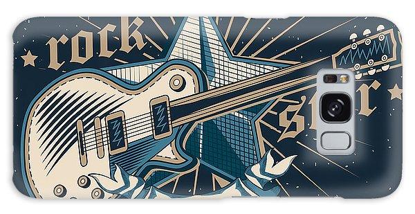 Metal Galaxy Case - Rock Star Emblem by Alex bond