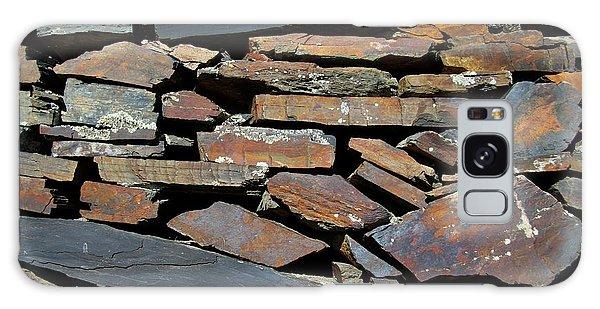 Rock Wall Of Slate Galaxy Case