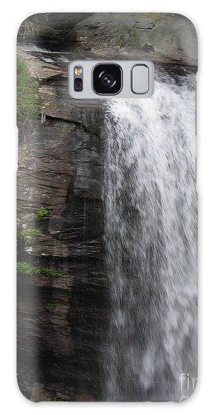 Rock Waterfall By Angelia Clay Galaxy Case by Angelia Hodges Clay