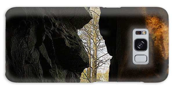 Rock Window Galaxy Case by Melissa Petrey